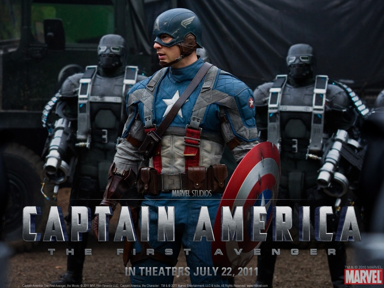 Captain America The First Avenger Latest Trailer And Wallpapers