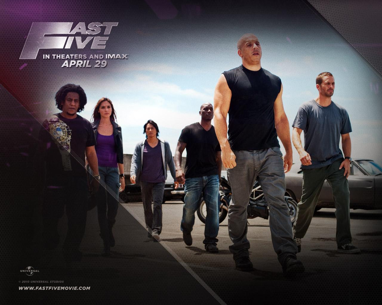 Vin Diesel in Fast Five Wallpaper | Prateak Movie Review